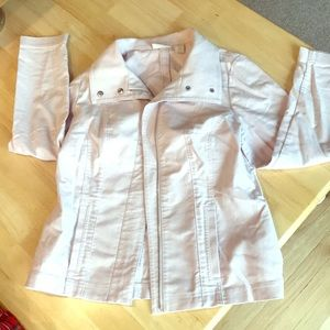 EUC light pink chicos jacket